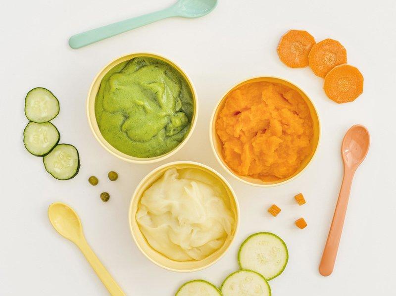 Vegetable purees