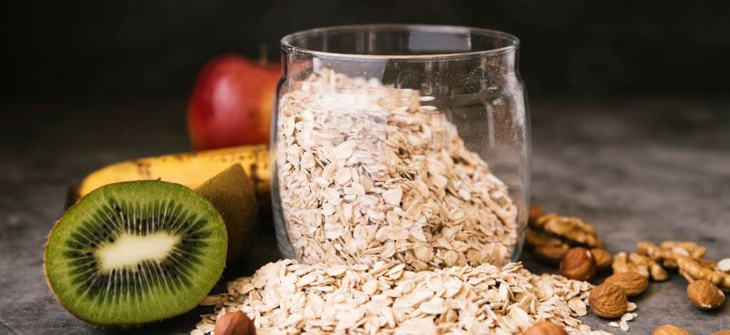oats and kiwi