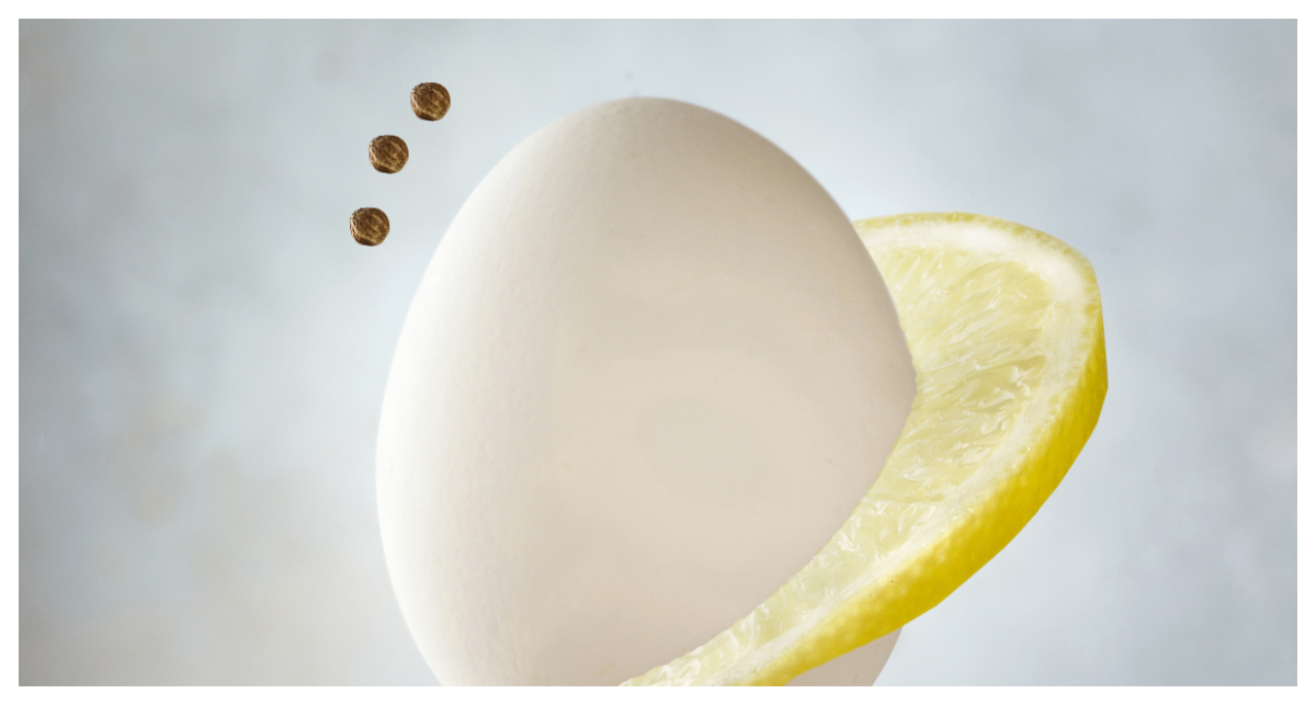 egg and lemon