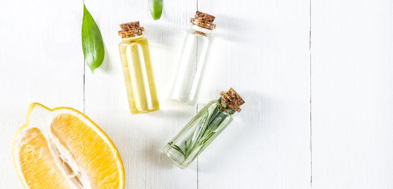 lemon oil and lemon