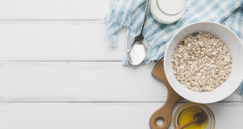 oats, honey and milk face pack