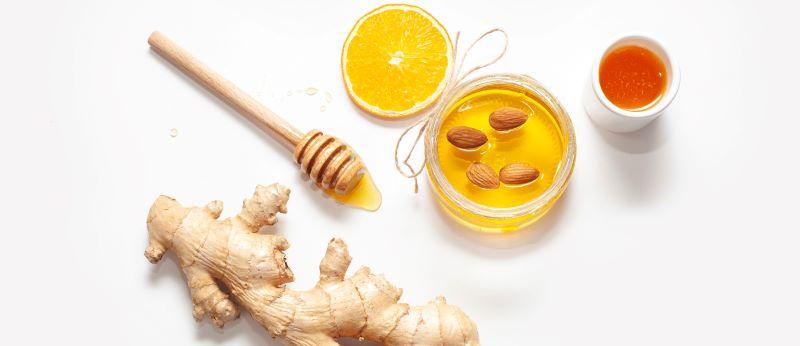 ginger and honey for removing dandruff