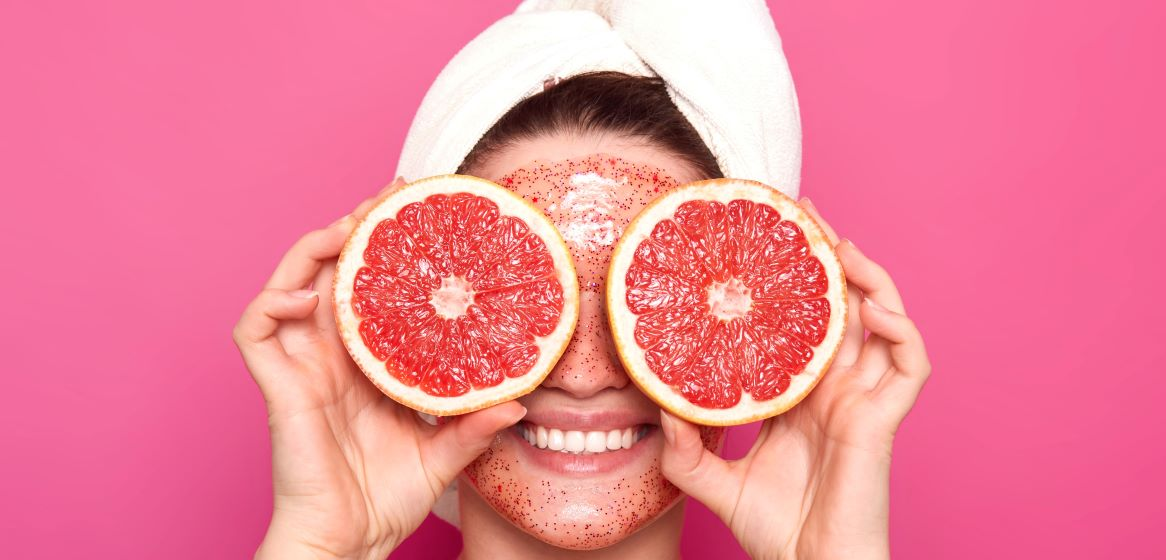 grapefruit face mask