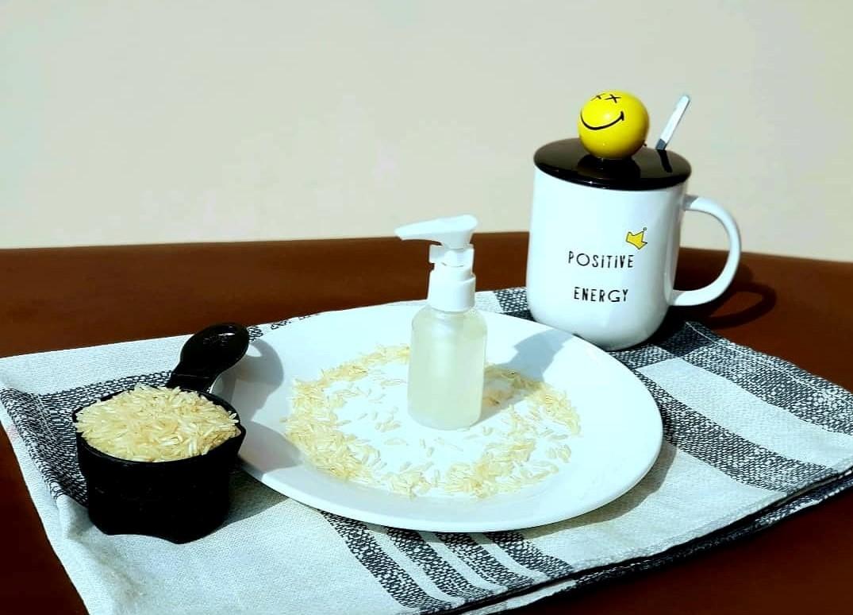 rice anti-aging face toner
